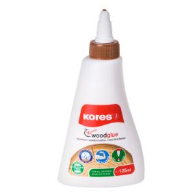 Bílé lepidlo na dřevo Wood Glue 125ml, rychlouzávěr