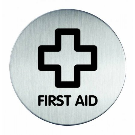 "Piktogram ""First Aid"" - kruh 83mm"