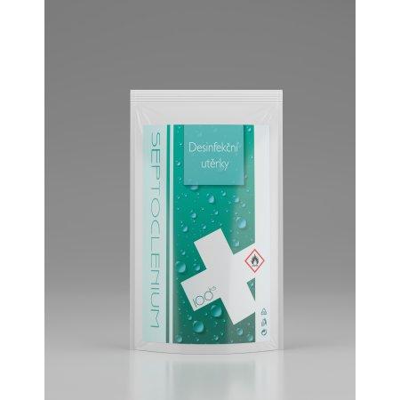 Dezinfekční utěrky na povrchy s alkoholem - Refill