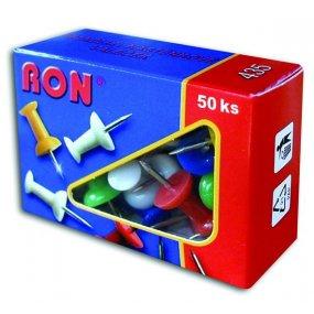 Špendlíky nástěnkové RON, balení 50ks