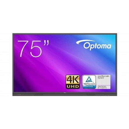 """Optoma 3751RK IFPD 75"""" - interaktivní dotykový, 4K UHD, multidotyk 20prstu, Android"""