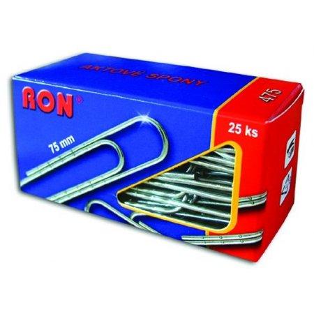 Sponky aktové 475 Zn 75mm 25ks RON