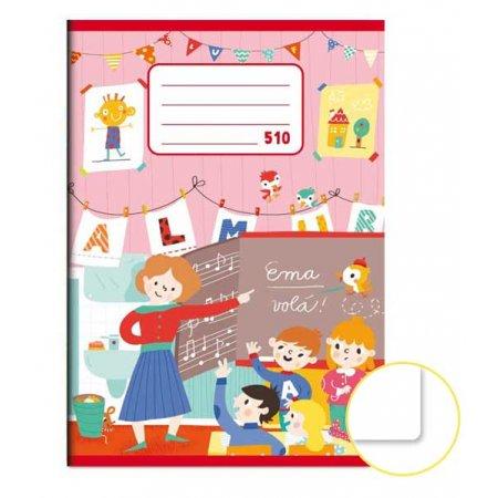 Školní sešit A5 čistý 510 10 listů
