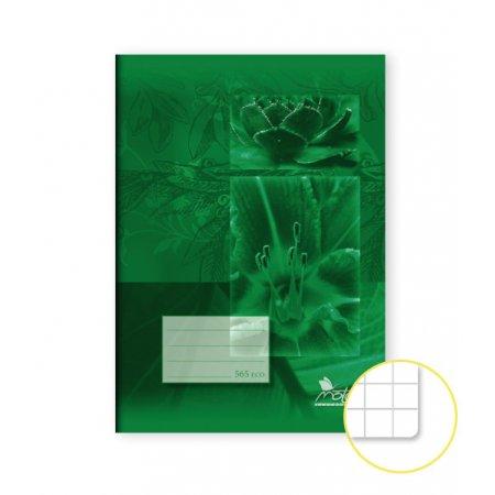 Školní sešit A5 čtverečkovaný EKO recykl