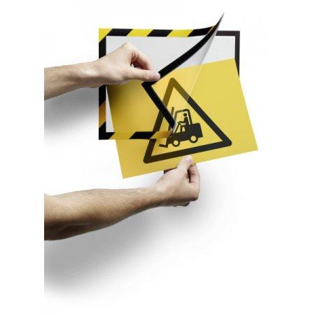 Samolepící inforámeček DURAFRAME® MAGNETIC SECURITY A4 2ks v balení