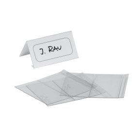Jmenovka na stůl DURABLE 52/104x100mm, balení 10ks