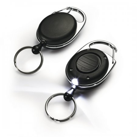 Odvíječ DURABLE STYLE LED s led diodou, klipem a kroužkem na kllíče