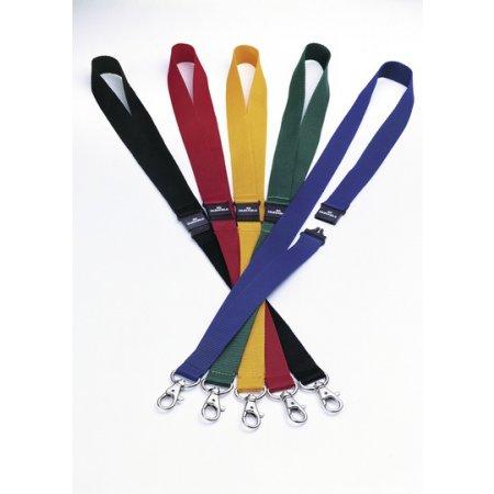 Textilní páska DURABLE s karabinou, šíře 20mm, balení 10ks