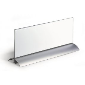 Jmenovka na stůl DURABLE Desk Presenter de Luxe 105x297mm