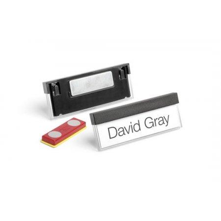 Jmenovka DURABLE SELECT s magnetem, 67x17mm, balení 25ks