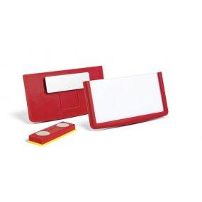 Jmenovka DURABLE FRAME s magnetem, 60x30mm, balení 25ks