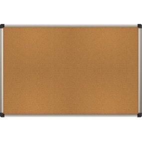#004 Korková tabule EasyTECH 90x60cm - DROBNÉ POŠKOZENÍ