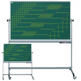 Pojízdná školní tabule EkoTAB, oboustranný potisk
