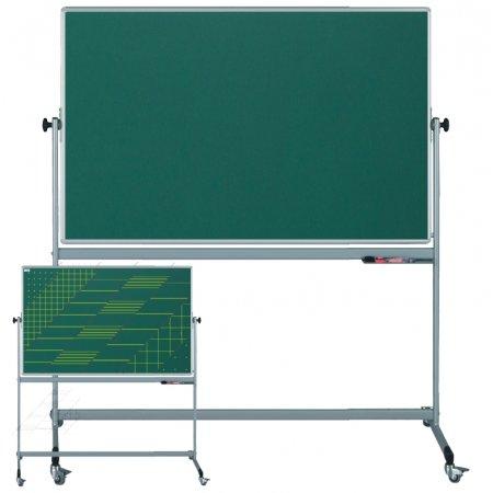 Pojízdná školní tabule EkoTAB, jednostranný potisk
