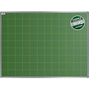 Školní tabule EkoTAB keramická, popis křídou, čtverce 100mm