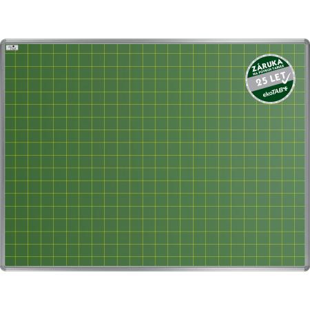 Školní tabule EkoTAB keramická, popis křídou, čtverce 50mm