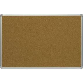 Korková tabule OfficeTECH, hliníkový rám