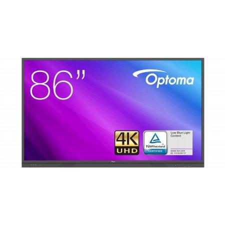 """Optoma 3861RK IFPD 86"""" - interaktivní dotykový, 4K UHD, multidotyk 20prstu, Android"""