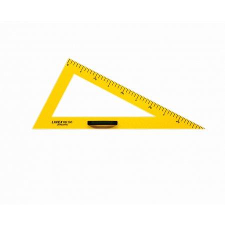 Trojúhelník tabulový 60°/50cm