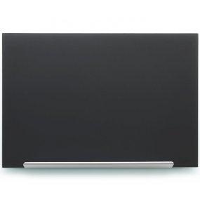 Skleněná tabule NOBO Diamond Glass, černá