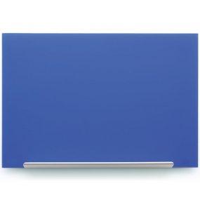 Skleněná tabule NOBO Diamond Glass, modrá