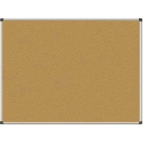 Korková tabule EasyTECH, hliníkový rám