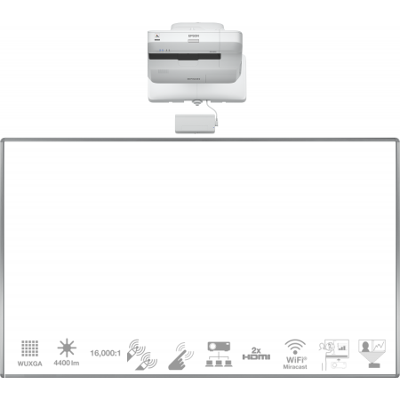 FULL HD dotyková interaktivní tabule EPSON EB-1460Ui