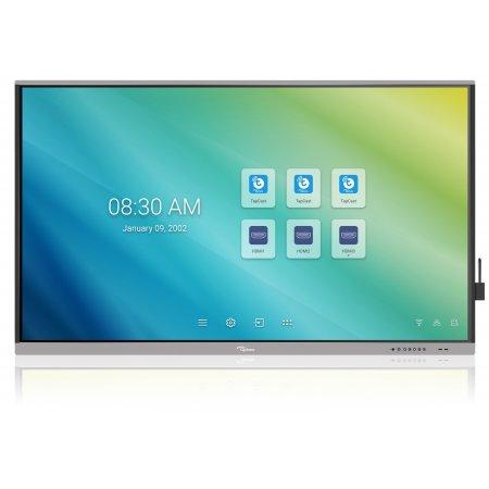 """Optoma 5861RK IFPD 86"""" - interaktivní dotykový, 4K UHD, multidotyk 20prstu, Android, antireflexní tvrzené sklo"""