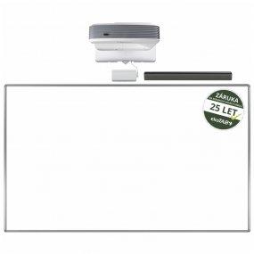 FULL HD dotyková interaktivní tabule Optoma EH320USTi na zeď