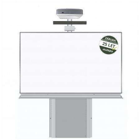 FULL HD dotyková interaktivní tabule Optoma EH320USTi + Keramická tabule 200 x 120 cm na stojanu zvedacím