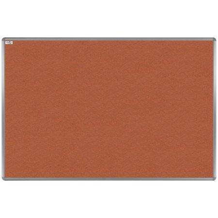 Textilní tabule EkoTAB, hliníkový rám, oranžová
