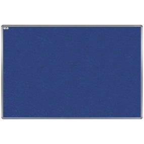 Textilní tabule EkoTAB, hliníkový rám, modrá