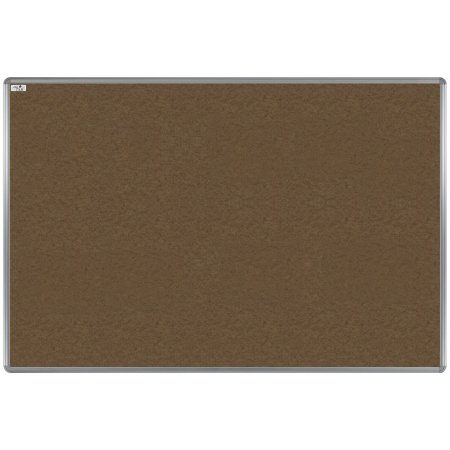Textilní tabule EkoTAB, hliníkový rám, hnědá