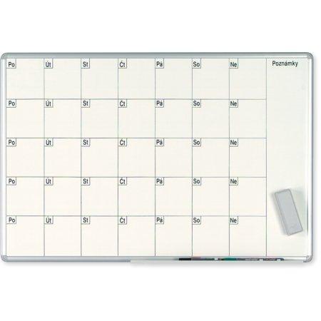 Plánovací tabule EkoTAB PRO, měsíční, 100x70cm