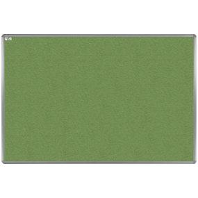 Textilní tabule EkoTAB, hliníkový rám, zelená