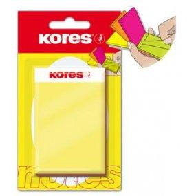 EASY CUBE neonový bloček v 5 barvách 75x50 mm / 25x5 listů v bločku, blister