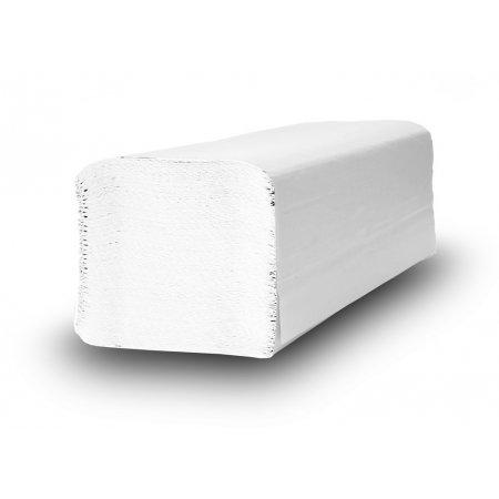 Papírové ručníky Z-Z Inposan Comfort LUX, 100 % celulóza, 2 vrstvy, bílé, 250mmx230mm, 38g/m2, krabice 20 x 160 ks