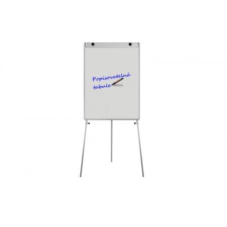 "Bílý magnetický flipchart ""L"" ekoTAB 75x100cm"