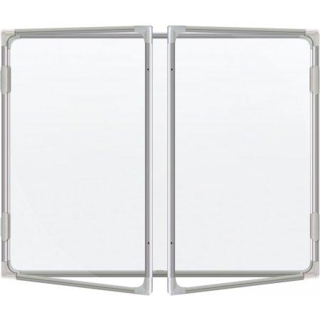 Vitrína vnitřní CaseTECH 32xA4, 180x120cm, magnetická