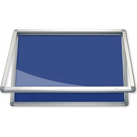 Vitrína vnitřní CaseTECH 8xA4, 90x60cm, filcová
