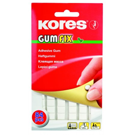 Lepící guma KORES Gumfix 50g 84ks