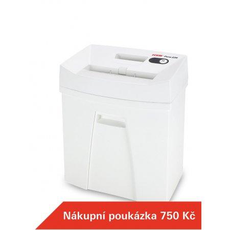 Skartovací stroj HSM Pure 220 4x25 mm + Dárek