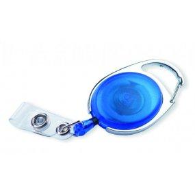 Naviják OVAL pro jmenovky, modrý (10ks)