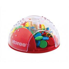 Zásobník na nástěnkové špendlíky Office bubble 100ks výprodej