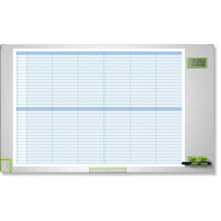 Plánovací tabule NOBO PERFORMANCE PLUS, kalendářní, 100x60cm