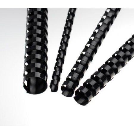 Plastové hřbety černé