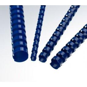 Plastové hřbety modré