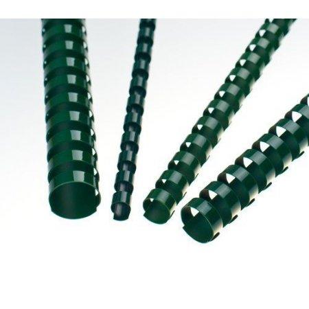 Plastové hřbety zelené