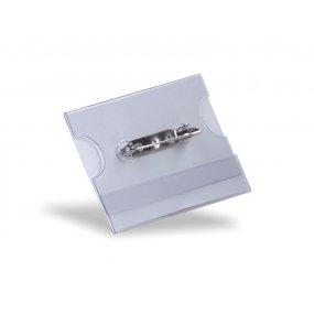 Jmenovka LabelTECH PIN tvrzená, 60x40mm, balení 100ks