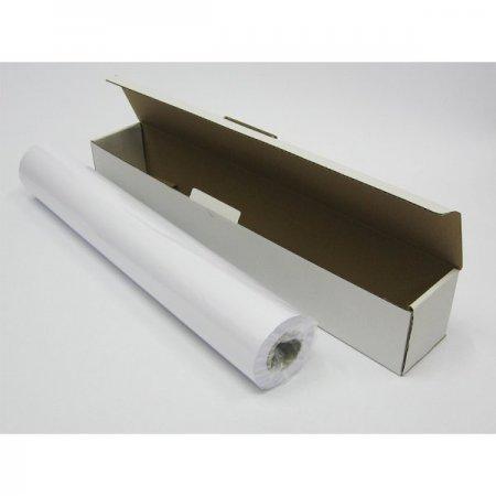 Plotrový papír Symbio, mat, hladký/wove, bílý, bezdřevý, 80g/m2,46.00m, Průměr dutinky: 50mm, krabice 1 kotouč